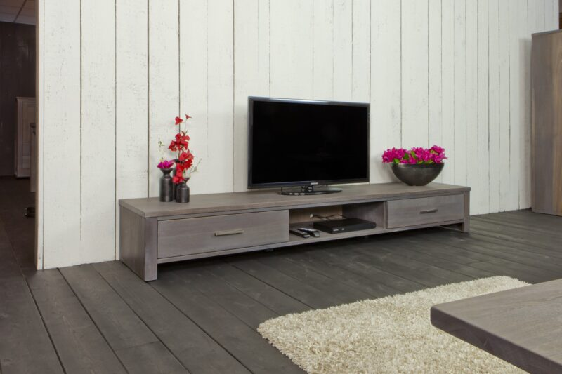 Modern laag tv-dressoir