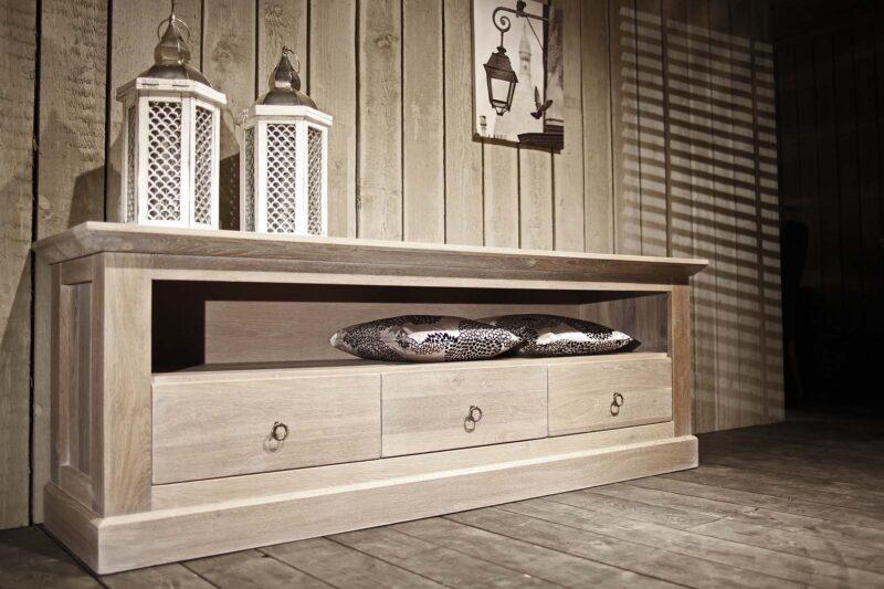 tv-dressoir met groot open vak