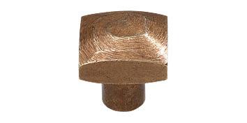 brons antiek knop