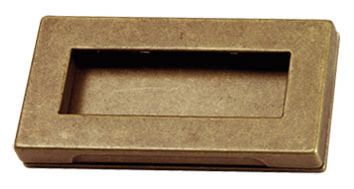 rechthoekig brons greepje