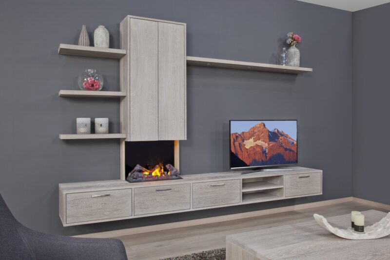 Eiken tv-dressoir