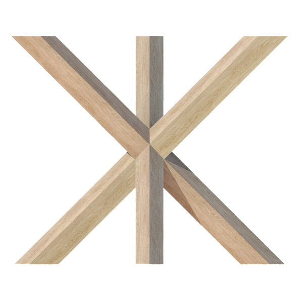 HOUT <span>driepoot 7 x 7 cm B 89 cm x H 74 cm</span>