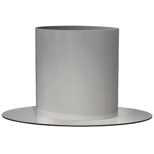 RVS <span>ovale poot B 50 x H 75 cm</span>