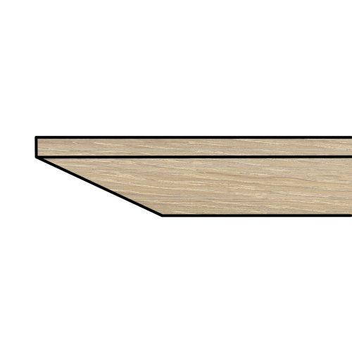 BACK <span>4 cm dik 25º schuin</span>