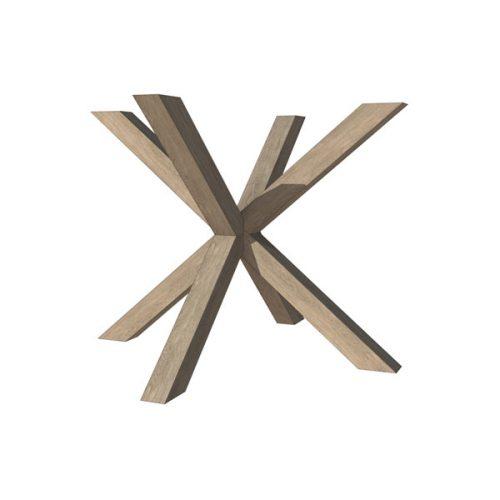 HOUT <span>spinnepoot  7 x 7 cm B 100 cm X H 74 cm</span>