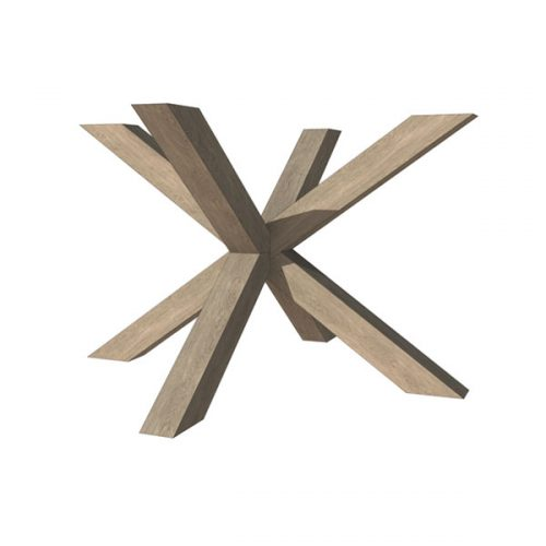 HOUT <span>spinnepoot  9 x 9 cm B 120 cm X H 74 cm</span>